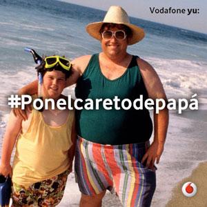 Shackelton activa el homenaje de Vodafone yu: a los padres