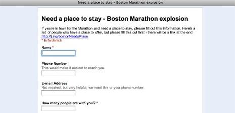 Explosiones en el maratón de Boston: así está ayudando la Web Social a los afectados