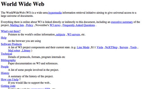 Las 13 'primeras veces' de internet