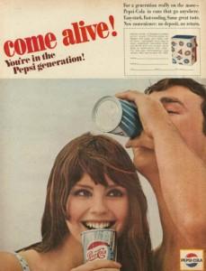 58 estilosos anuncios de Pepsi de la era de
