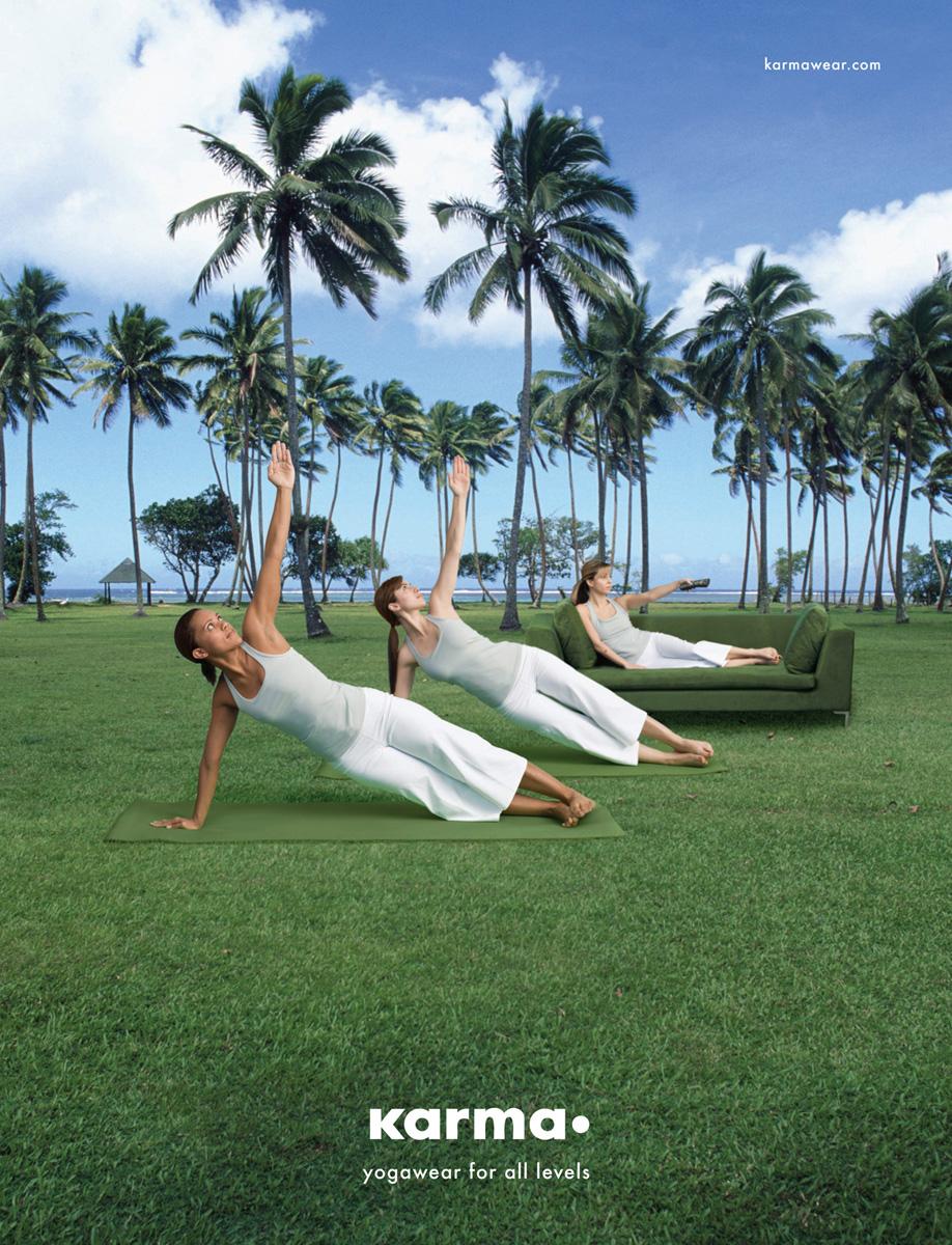 yoga anuncios de trios