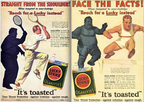 """13 anuncios de cigarrillos sorprendentemente """"saludables"""""""
