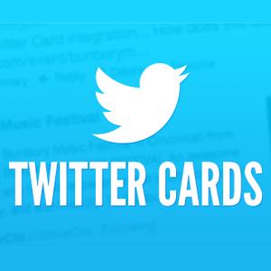 Tres nuevas 'Twitter Cards', para los que 140 caracteres no son suficientes