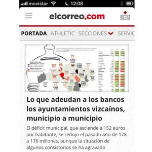Vocento lanza la segunda generación de aplicaciones para móviles de sus diarios digitales