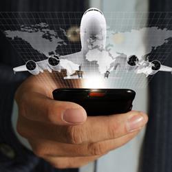 Los hábitos móviles de los viajeros han puesto a los anunciantes a volar