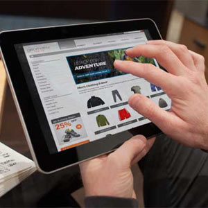 El número de compras online a través de las tabletas triplica el de los teléfonos inteligentes