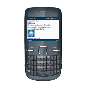 Los anuncios de Facebook, ahora también en los móviles tradicionales