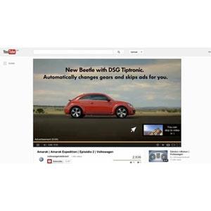 ¿Harto de la publicidad en Youtube? Volkswagen presenta un spot que se omite solo