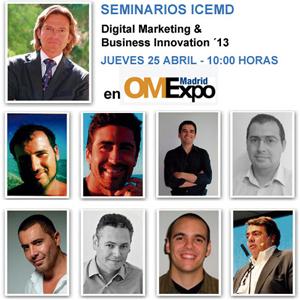 Seminario digital ICEMD dentro de OMexpo 2013