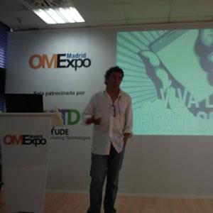 """J. Martín (Arroba) en #OMExpo: """"Tenemos que dejar de hablar de campañas publicitarias para hablar de soluciones"""""""