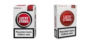 La marca de cigarrillos Lucky Strike se