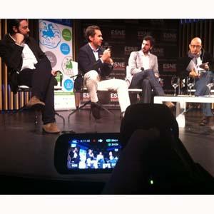 """D. Martínez –Tessier (Spotless) en #Eficacia2013: """"Todos competimos por su atención, hay que aliarse con el usuario"""""""