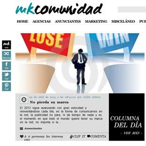 Comparta y haga clipping con el nuevo diseño de MarketingComunidad