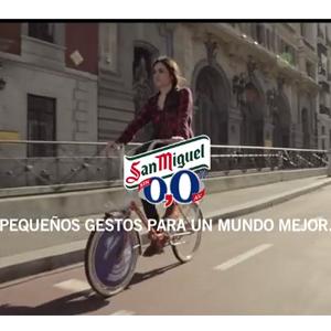 San Miguel 0,0% celebra el Día Mundial de la Bicicleta