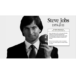 "Rememberum: la vida de Steve Jobs con el ""look"" de la interfaz del Mac OS"