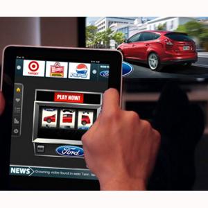 tablet y television