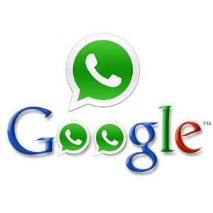"""WhatsApp, ¿la próxima """"megacompra"""" de Google?"""