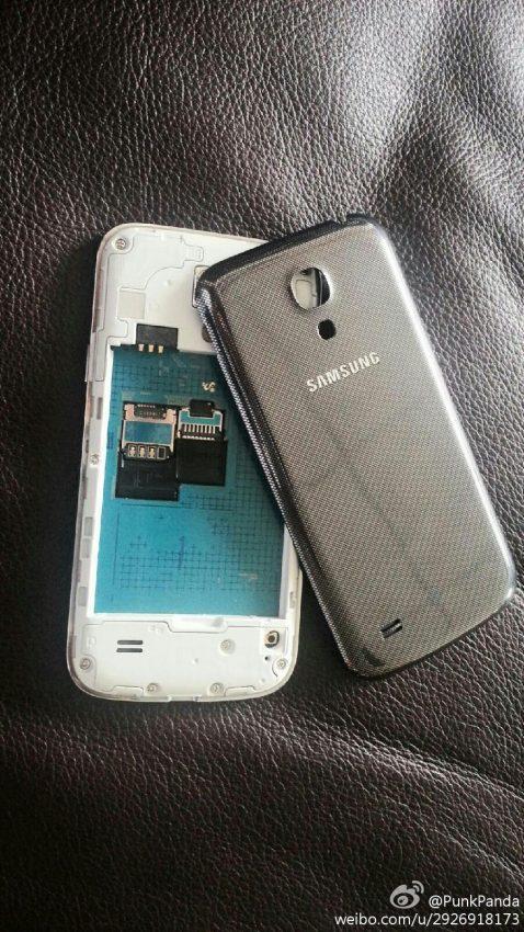 Se filtran nuevas imágenes de la versión más barata y pequeña del Samsung Galaxy 4