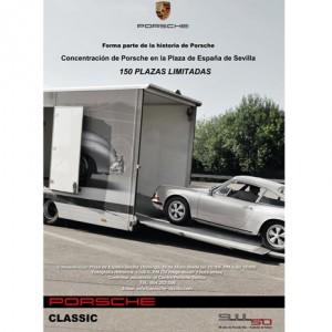 El 50 aniversario de Porsche le lleva por las calles de Sevilla