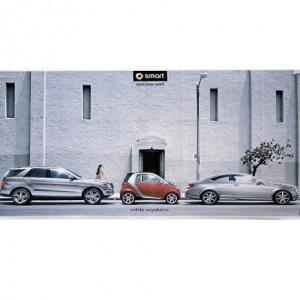 Contrapunto BBDO realiza la campaña de smart de Mercedes Benz