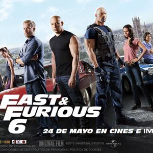 'Fast & Furious 6', de Universal Pictures, bate récords de taquilla en su estreno