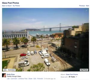 Facebook inicia su camino hacia las Google Glass