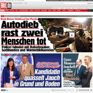'Bild', el diario más leído de Europa, se sube también el tren de los contenidos online de pago