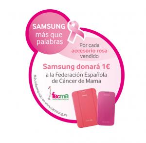 Samsung y FECMA presentan su campaña de compromiso para la lucha contra el cáncer de mama
