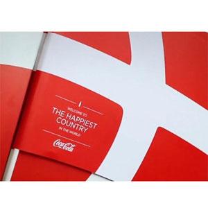 Dinamarca y el logotipo escondido de Coca-Cola