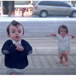 Los bebés bailarines de Evian registran ya más de 44 millones de visitas en YouTube