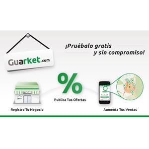 Guarket, la plataforma web y móvil de cupones para el comercio físico