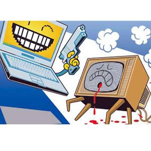 El vídeo online desplaza a la televisión tradicional