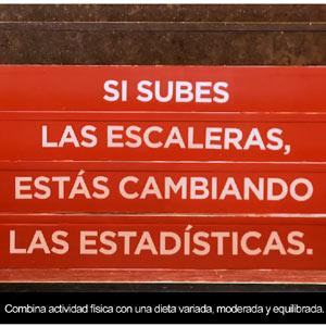 Coca-Cola sigue con su campaña contra la obesidad, en esta ocasión con un ascensor