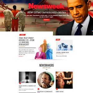 'Newsweek' apuesta por la narración multimedia con su nuevo diseño