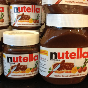 Nutella recompensó a su mayor fan y fundadora del Nutella Day con una carta de cese