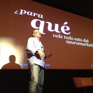 """P. Arribas (Inside Brain) en #MKTEC: """"El neuromarketing es técnico, es científico, no es cuestionable"""""""
