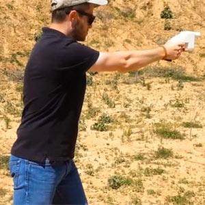 La primera pistola fabricada con una impresora 3D hace