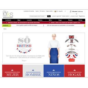 Marks & Spencer elige a Mindshare España para lanzar su portal de e-commerce