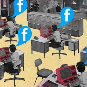 social media trabajo