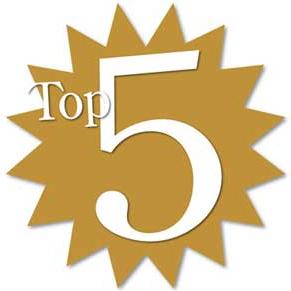 Las 5 noticias más leídas