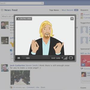 Su News Feed de Facebook, ahora incluirá anuncios en vídeo