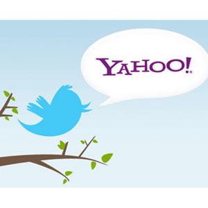 Yahoo inicia una colaboración con Twitter y