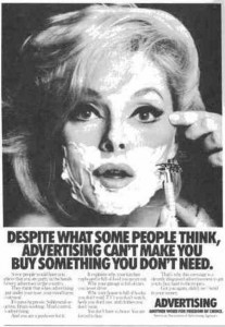 Los 69 anuncios vintage más chiflados