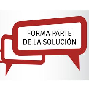 Forma parte de la solución, una nueva plataforma ciudadana que busca propuestas sociales