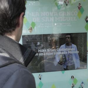 San Miguel, Posterscope y Aegis Media, inundan Barcelona de tecnología para apoyar el lanzamiento del último videoclip de la marca