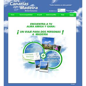 El Conejo Blanco lanza un concurso online para promocionar los viajes a Madeira simultáneamente en Canarias y Madeira