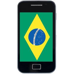 El 63% de los usuarios de internet móvil en Brasil pertenece a la clase media