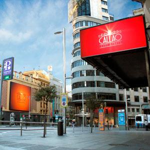 Callao City Lights se consolida como soporte publicitario exterior, otorgando valor a las marcas que se anuncian en sus pantallas