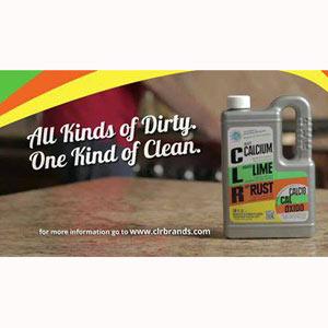 Un anuncio de productos de limpieza con la lengua muy sucia