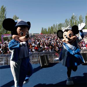 Grandes marcas colaboran en el éxito de la primera edición de Disney Magic Run